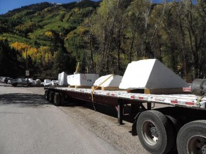 Colorado Stone Quarries will be happy to arrange transportation