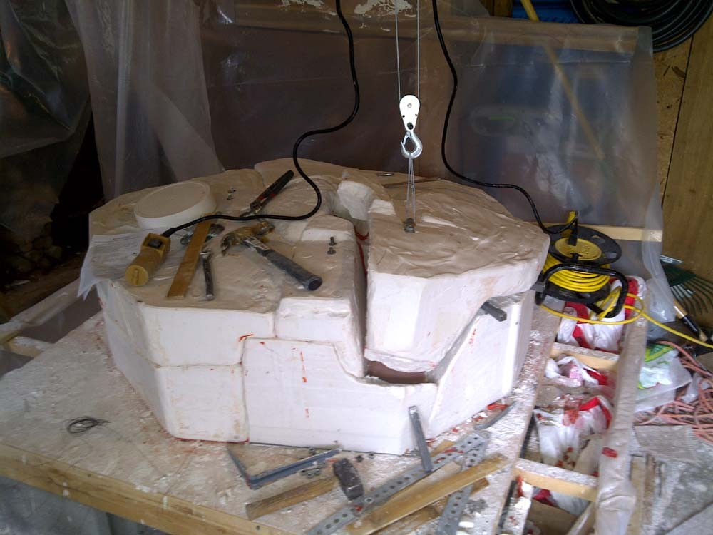 how to make a plaster mold for metal casting