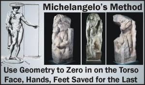 Michelangelo's Marble Carving Method