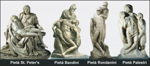 Michelangelo Buonarroti Pieta St Peter's Bandini Rondanini  Palestri pieta.ca