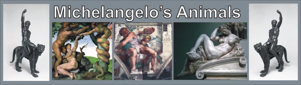 michelangelo-animals-panther-snake-owl-fish