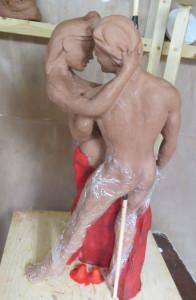 The Pair Adam Eve Maquette Randall 1b