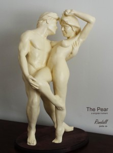 Randall The Pear a singular moment for Adam & Eve randy bezeau